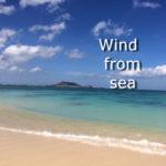 sou.universeのオリジナル曲の Wind from sea