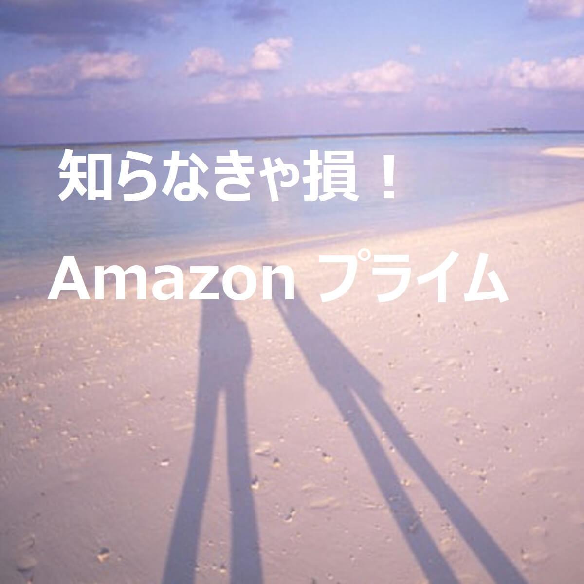 知らなきゃ損!Amazon プライム。