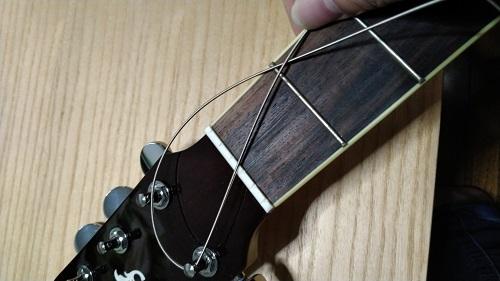 弦の取り付け方の画像