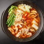 おいしそうなキムチ鍋の写真