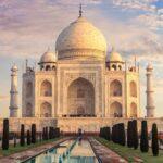 美しいTaj Mahalの写真。