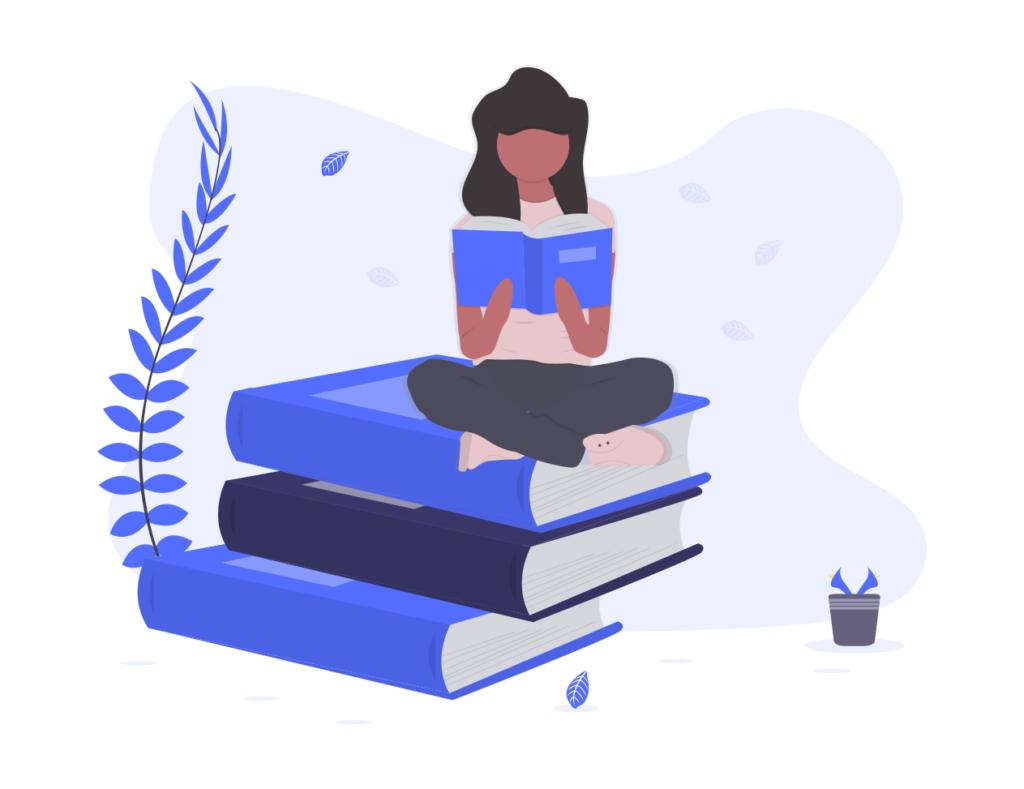 本を愛している。