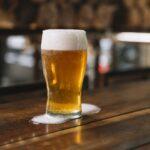 おいしそうなビールの写真