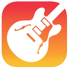 GarageBandのロゴ