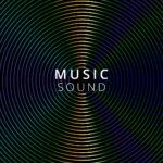MUSIC SOUNDのロゴの入った画像。