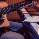 ピアノとギター。